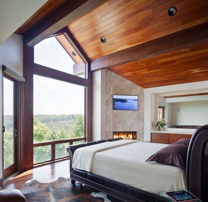 10 Modern Rooms with a Forest View