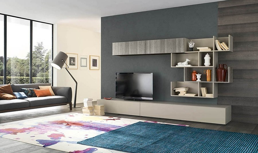 Modern Living Room Wall Units 11 creative wall units that are eco-friendly