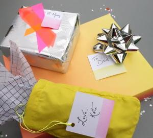 Neon Christmas gifts