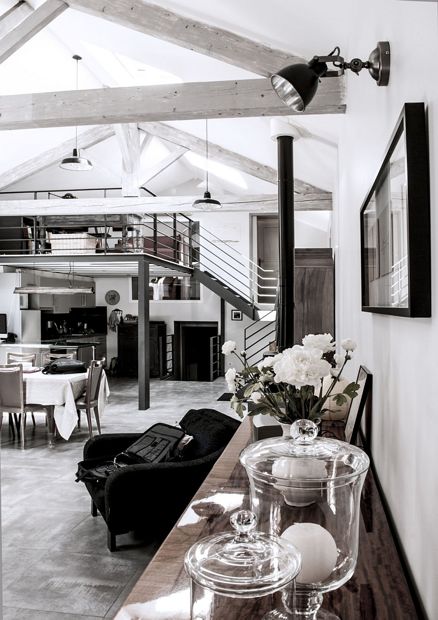 Old mill in France transformed into modern home