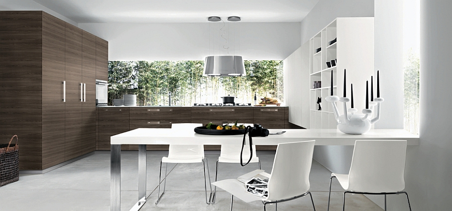 Modern Breakfast Nook Fresh Modern Breakfast Nook Design At The