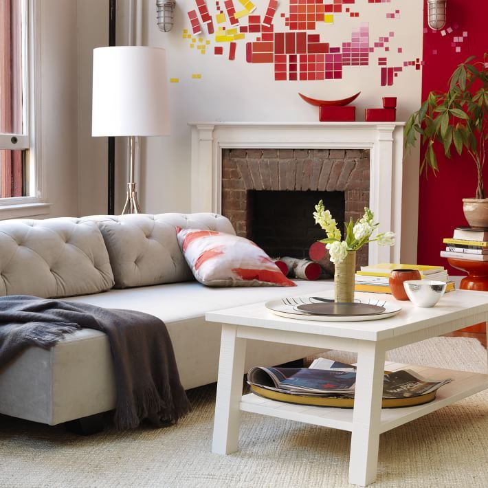Setting design and decorating goals for the new year for Modern living room colours 2015