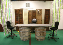 Recycled Barrel Desk Terracycle