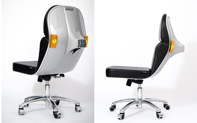 Recycled Vespa Office Chair