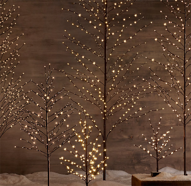 Restoration Hardware Christmas Trees Decoist