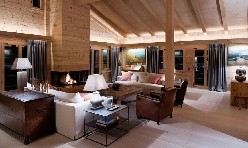 Chalet Gstaad: Luxurious Holiday Retreat Nestled in the Heart of the Swiss Alps