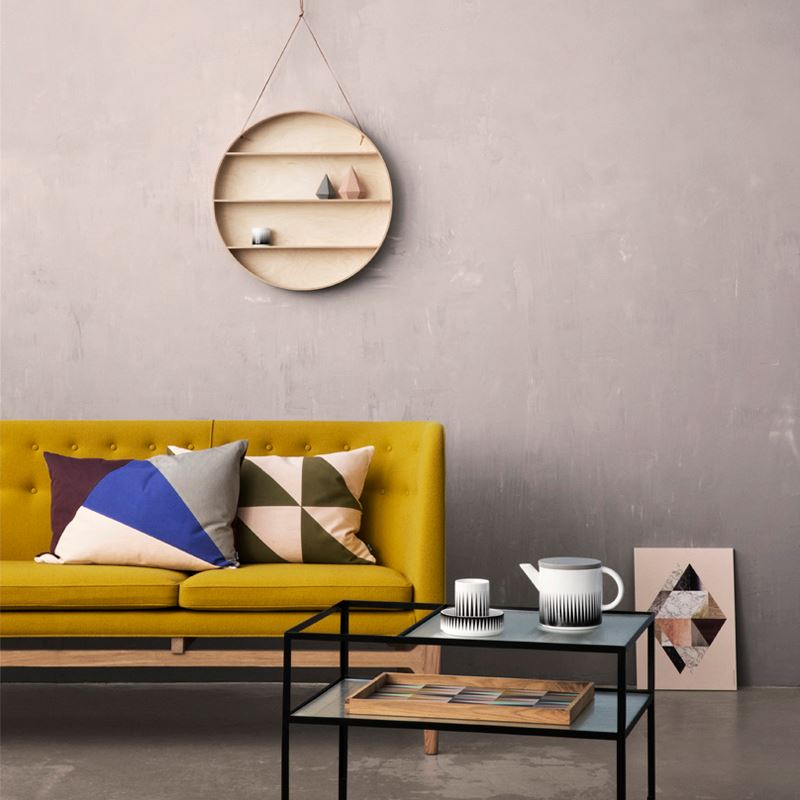Round shelf from Ferm Living