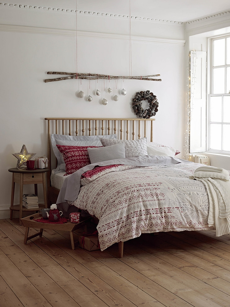 Scandinavian minimalism combined with festive charm! [Design: Marks & Spencer]