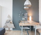 Scandinavian style Christmas decor for the contemporary dining room