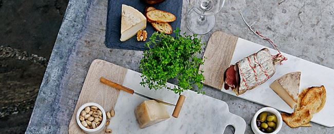 Slate cheese board from Williams-Sonoma