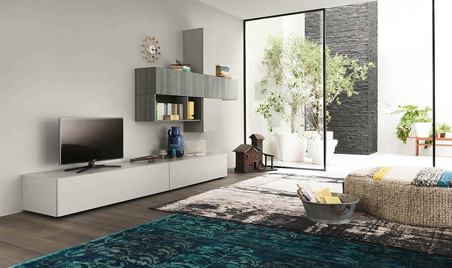 Smart B_Green living room units offer compositional freedom