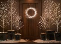 Starlit Christmas Trees 217x155 8 Pared Down Christmas Decor Ideas for Minimalist Homes