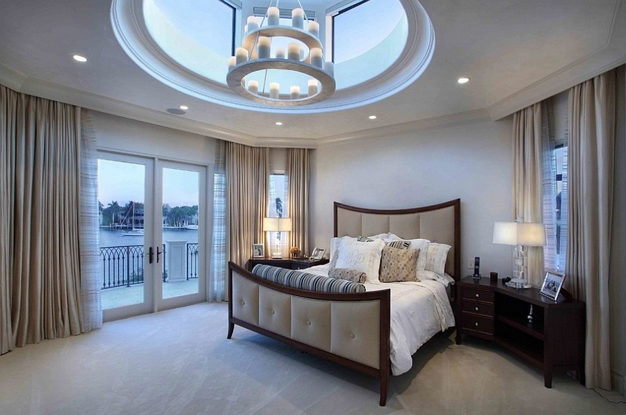 stunning skylight design for the master bedroom design martin architect - Stylish Bedroom Design