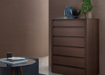 Tall bedroom cabinets save up on foot space in the room