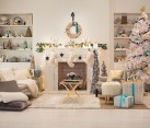 Target holiday room styled by Emily Henderson