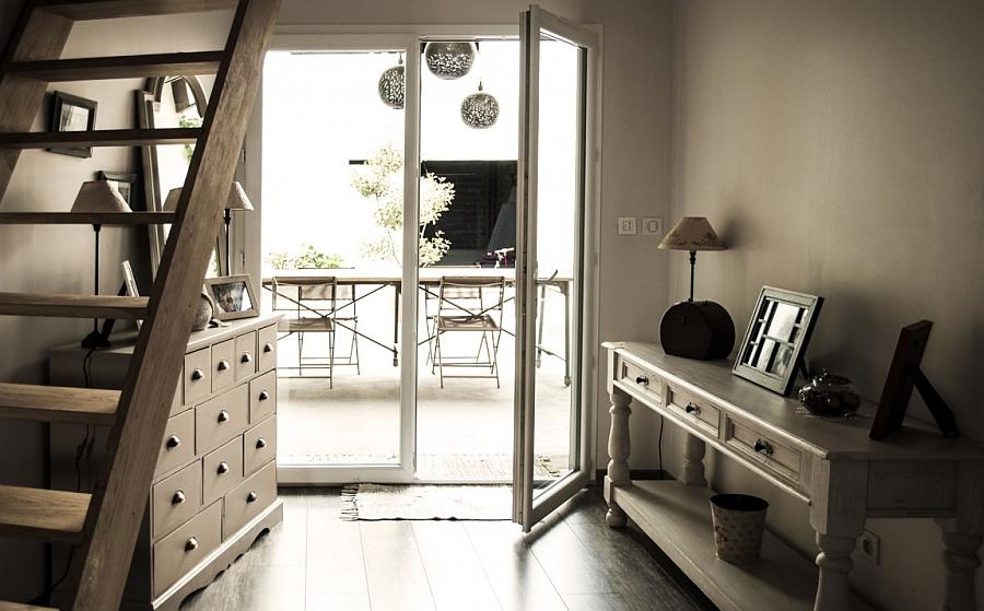 Traditional French design elements meet modern elegance