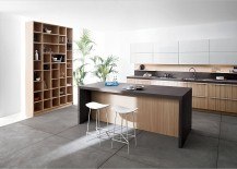 Vesatile kitchen compositions from Snaidero 217x155 Code: Posh Kitchen Blends Trendy Aesthetics with Practicality