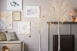 West Elm LED Trees
