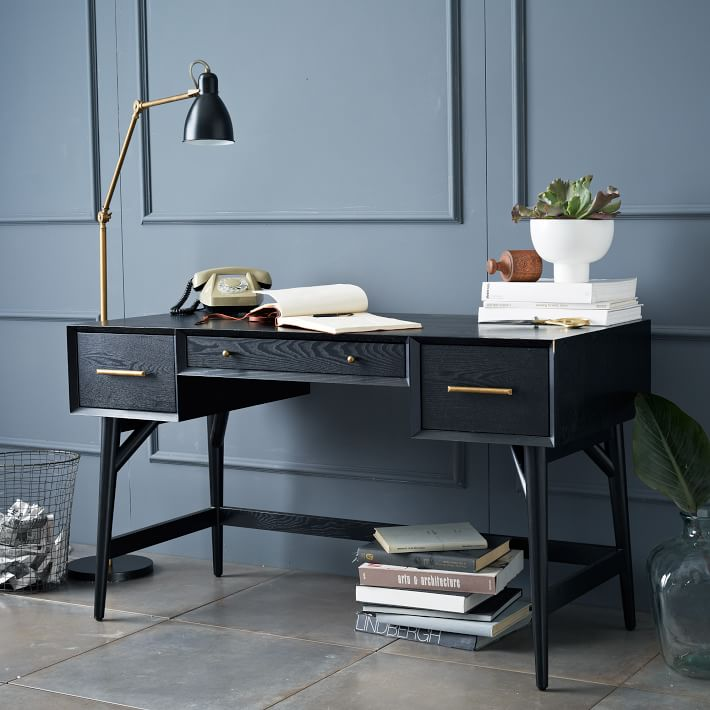 West Elm Mid-Century Modern Desk