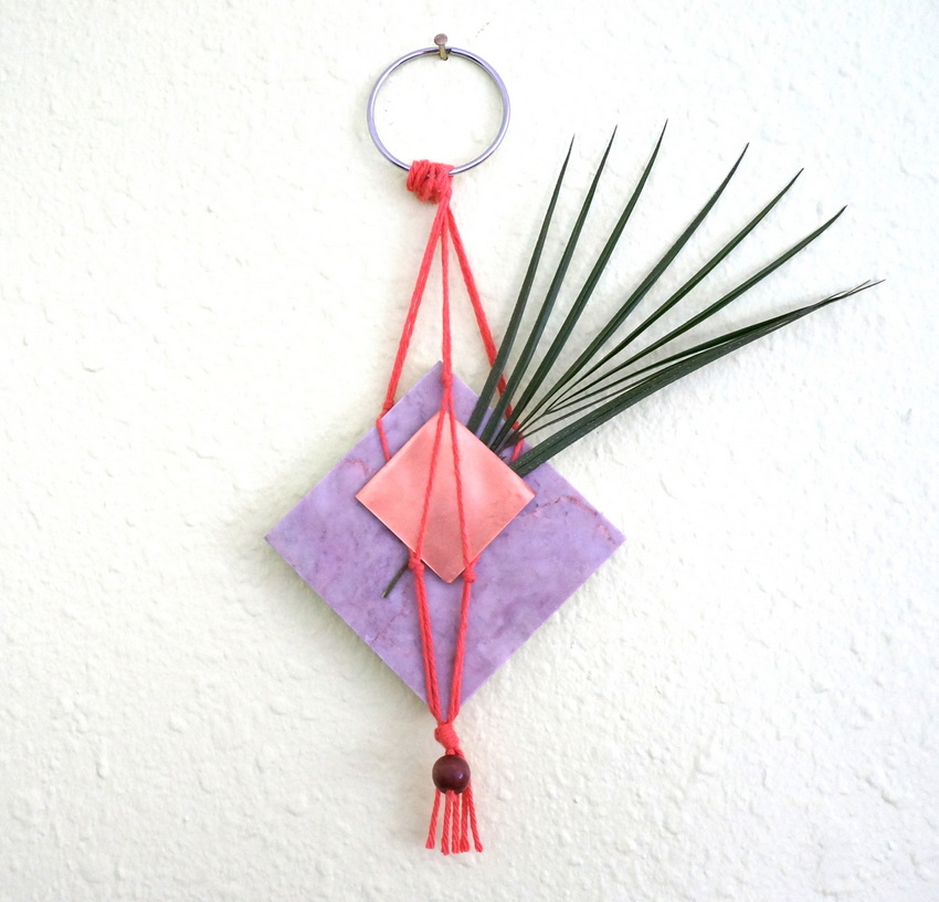 2-in-1 DIY wall hanging