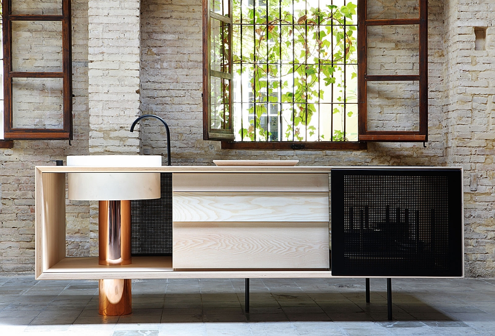 Add a touch of sculptural style to your kitchen with gorgeous FLOAT Island