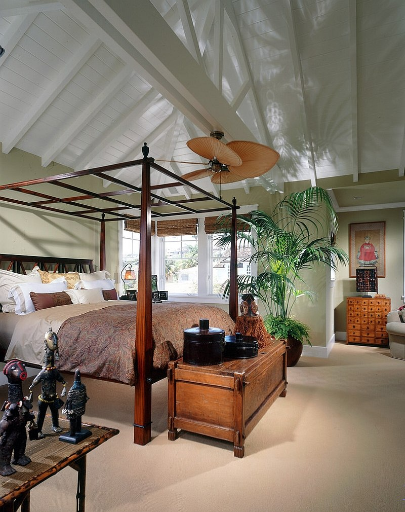 Hot bedroom design trends set to rule in 2015 for Tropical canopy bed