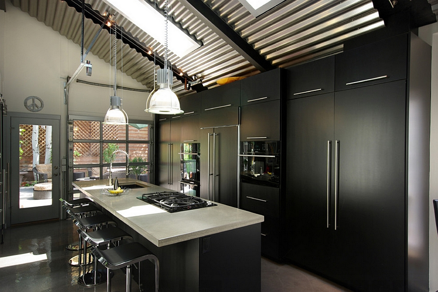 Add some natural ventilation to the dark kitchen