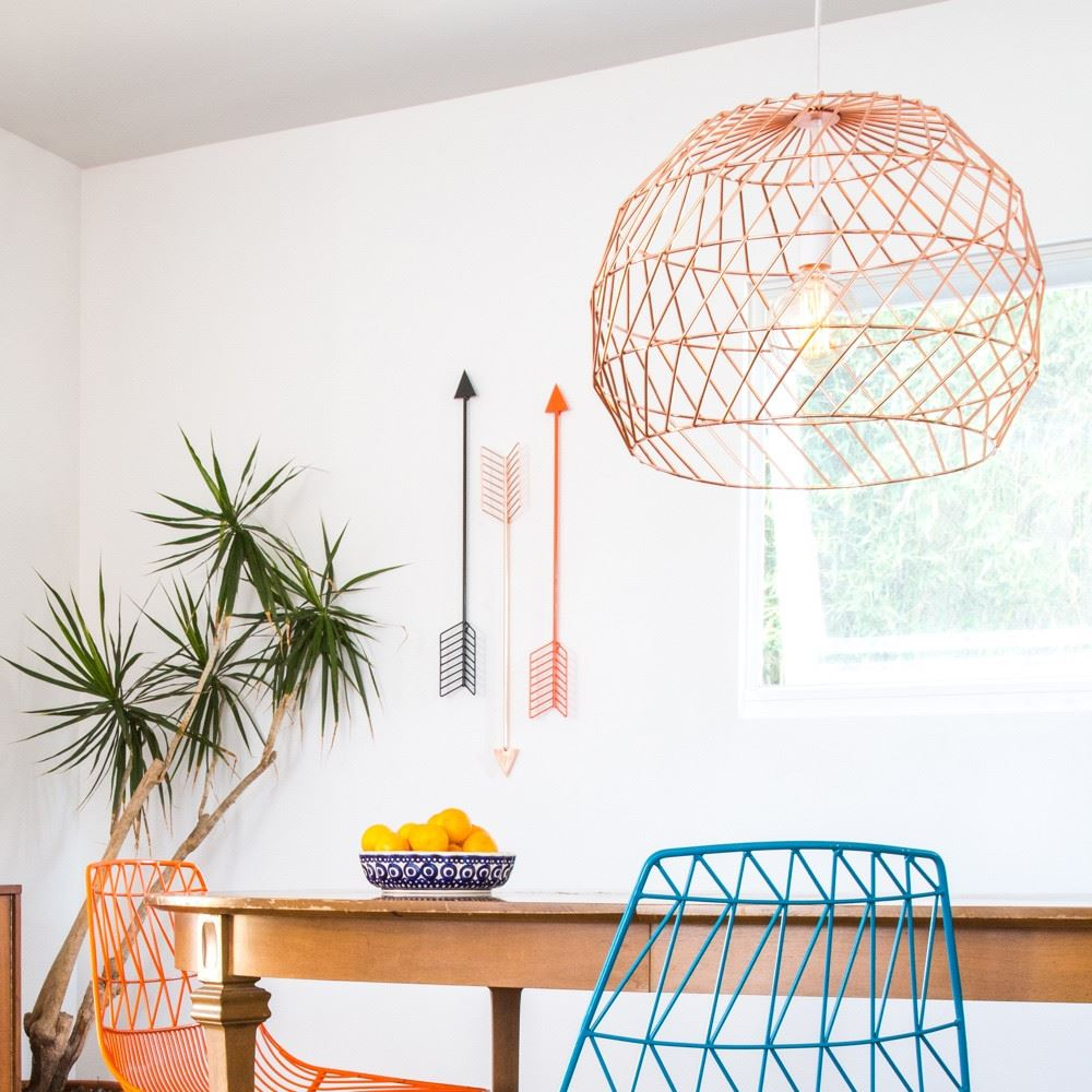 Array Pendant Lighting from Bend Goods Function and Style Combine in Bends Wire Decor