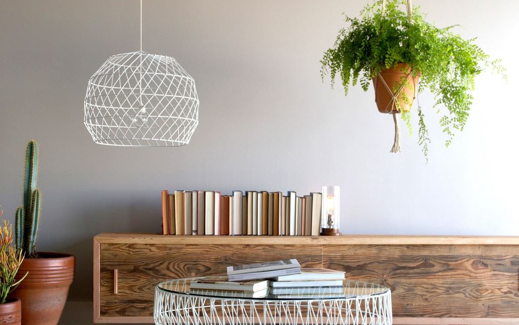 Array Pendant Lighting in white from Bend Goods