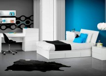 blvd reversible platform bedroom collection blue room blue room white furniture