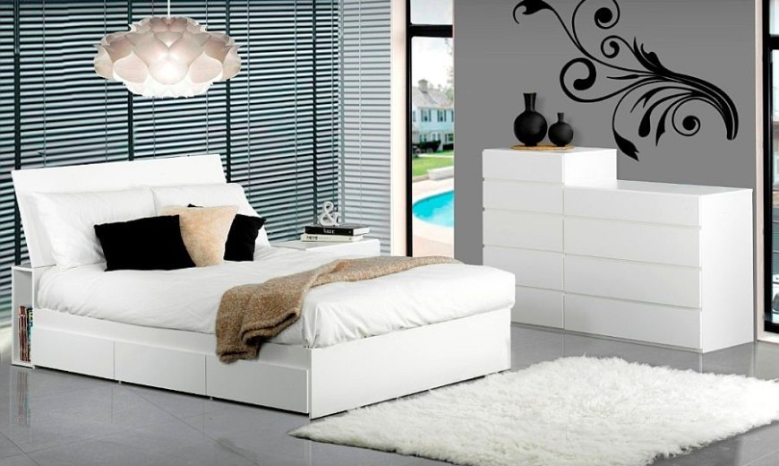Brighten Up Your Bedroom with These Fresh White Furniture Pieces