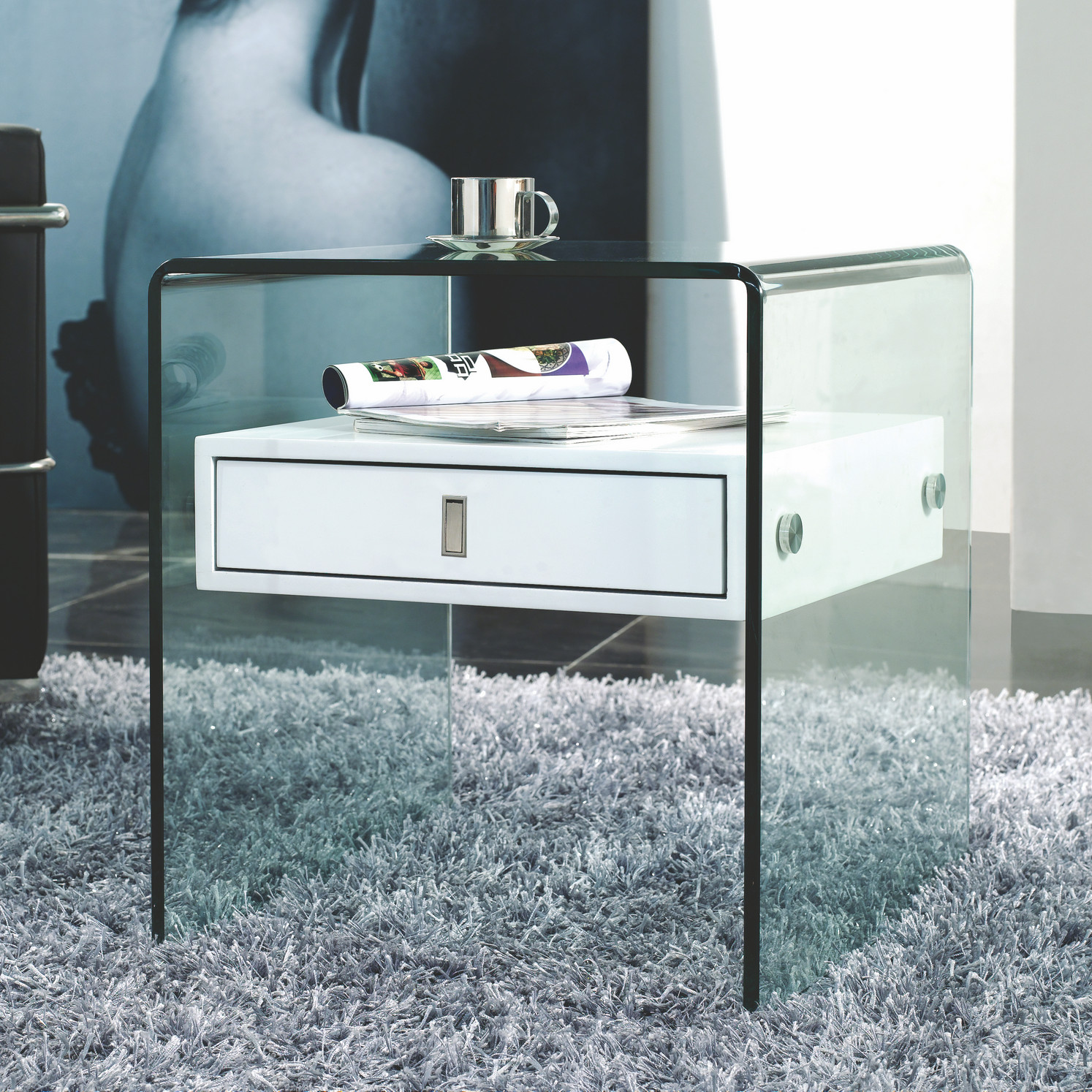 Bari Nightstand by Casabiance