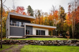 Beautiful Chalet Bolton Est in Quebec, Canada