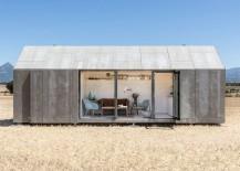Beautiful concrete prefabricated home