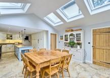 Beautiful-farmhouse-style-kitchen-with-multiple-skylights-217x155