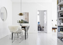 Bertoia Chairs bring timeless class to the dining room