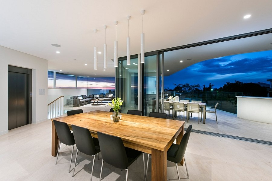 Bespoke design and a resort style ambiance shape the contemporary Perth home