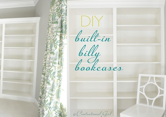 Billy IKEA Built in Bookcase