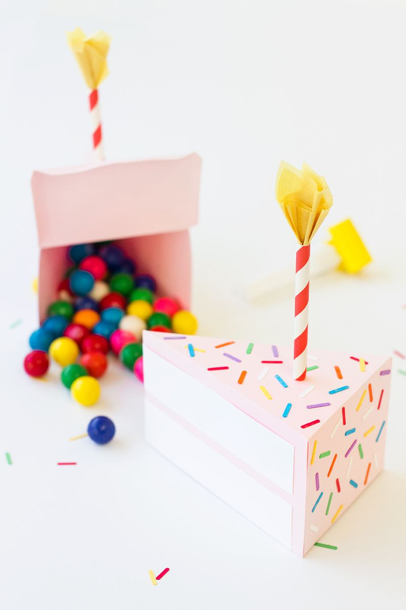 Birthday cake box from Studio DIY
