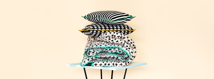 Bold cushions from Arro Home