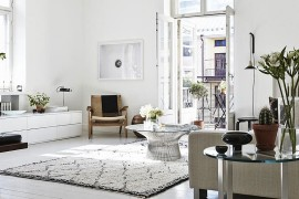 Classic Paltner coffee table steals the show in the Scandinavian living room