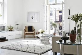 Chic Helsinki Apartment Displays Scandinavian Design at Its Serene Best