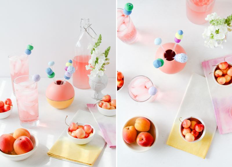 Clay drink stirrers from Paper & Stitch