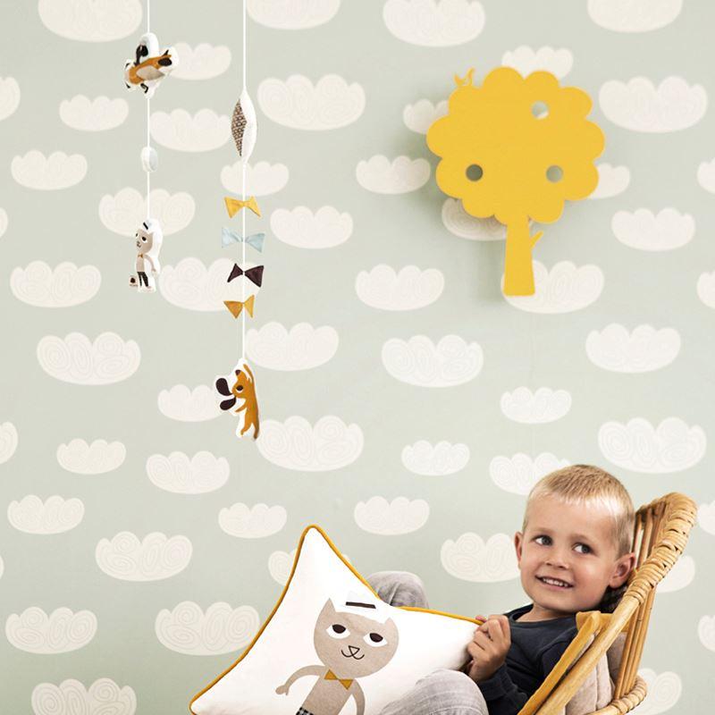 Cloud Wallpaper from ferm LIVING Design Motif Spotlight: Clouds