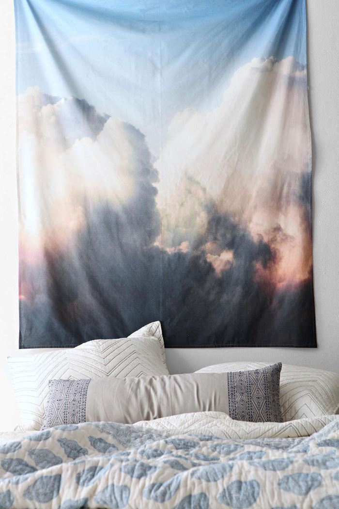 Cloud tapestry from Urban Outfitters