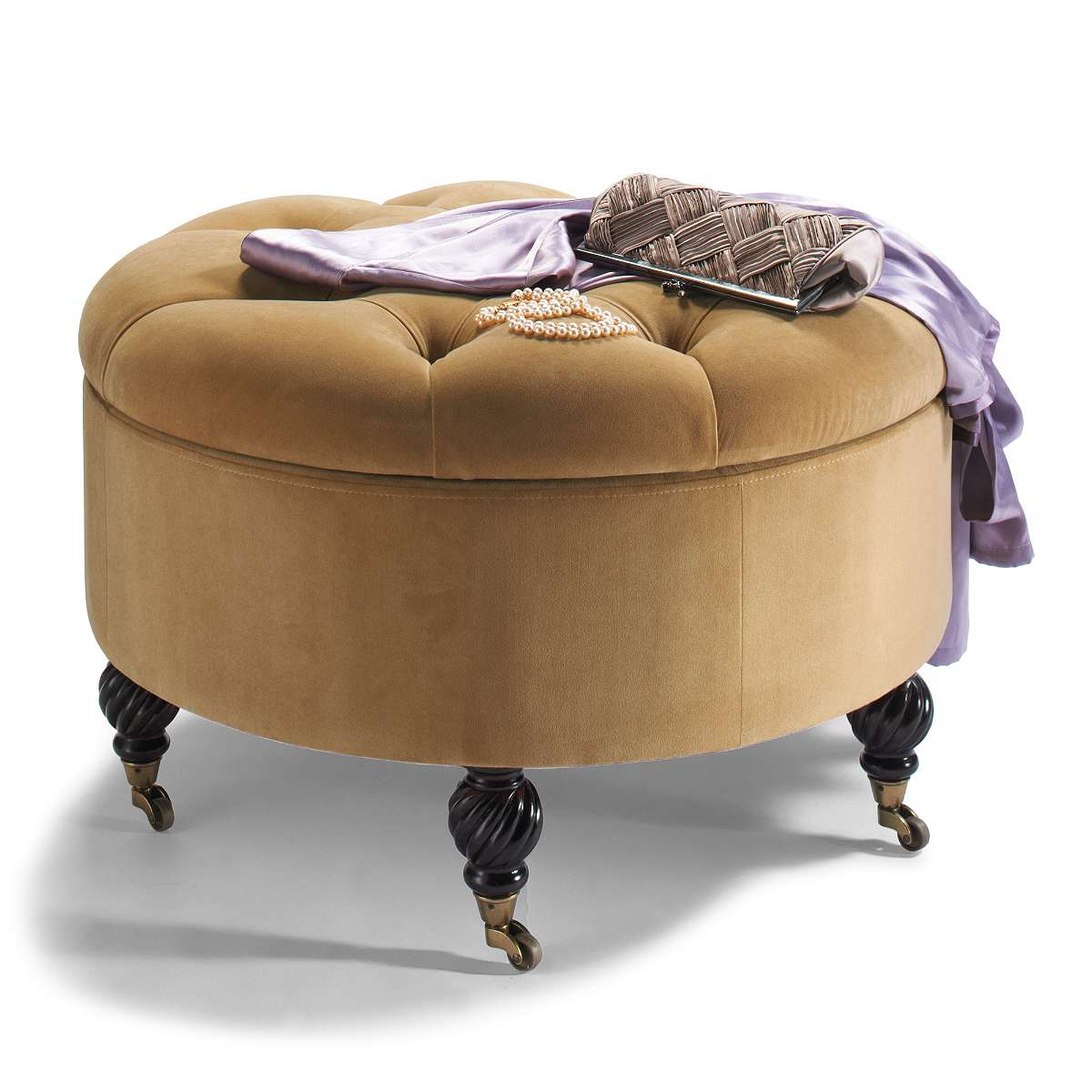 Collette Tufted Storage Ottoman