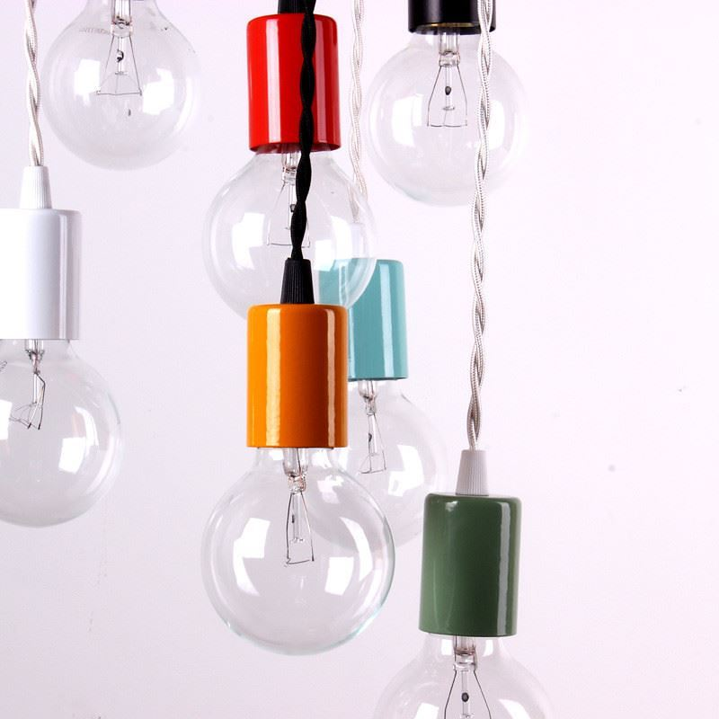 Color Pendant Lamps from onefortythree