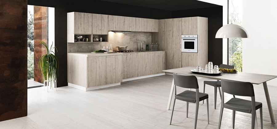 11 inspired contemporary kitchens with compositional freedom for New kitchen designs 2015