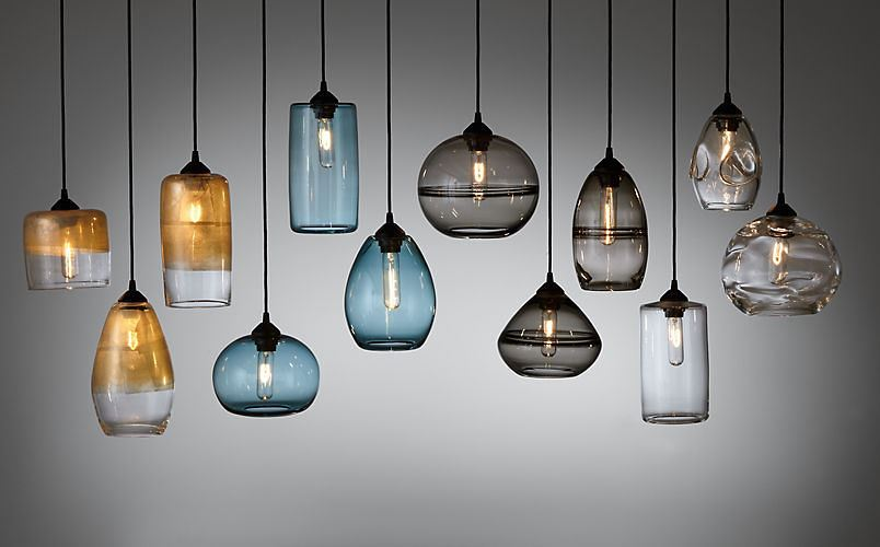 Compact pendant lighting from Room & Board