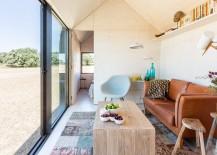 Concrete prefabricated house - interior design